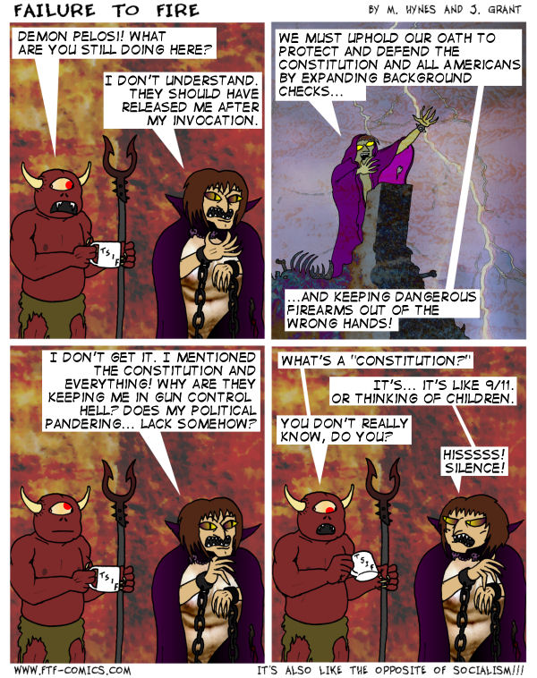 Communism! Satanists! Pedophiles! Knee Jerk Talking Points!